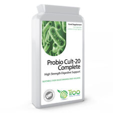Probio Cult-20 Complete 20 Billion CFU High Strength 120 Capsules