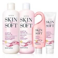 Avon Skin So Soft & Sensual 4-Piece Gift Bath & Body Set Lotion, Shower Gel Hand