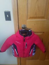 ZeroXposur Zx Toddler Kids Insulated Winter Hooded Jacket Red Size 2T