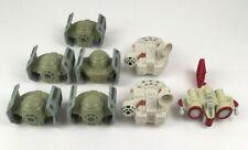 Star Wars 2005 Burger King Toys Lot Of 8 Ships