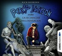 RICK RIORDAN - PERCY JACKSON ERZÄHLT: GRIECHISCHE HELDENSAGEN  6 CD NEW