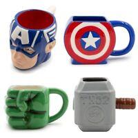 20oz Sculpted 3D Ceramic Mug Marvel Classic Superhero Gift Novelty Coffee Cup
