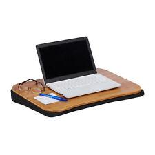 Laptopkissen Bambus Lapdesk Laptop Unterlage Notebooktisch Knietisch Cushdesk