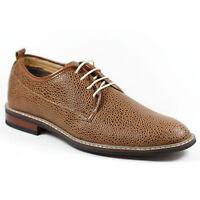 Ferro Aldo Men's Light Brown Lace Up Dress Classic Oxford Shoes MFA-19267A