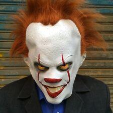 Stephen Kings ES Maske Latex Pennywise Halloween Kostüm Karneval Killer Clown Es