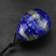 45x35mm Drilled Natural Lapis Lazuli Kegel Yoni  Eggs Crystal Healing Sphere
