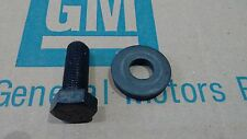 PONTIAC crankshaft crank balancer bolt & washer 64-80 350 389 400 428 455 GTO TA