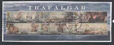 Gb 2005 Bicentenary of The Battle of Trafalgar Minisheet fine used set stamps