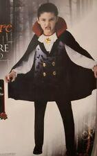 Vampire Halloween Costume Boys Large 10-12 Rubies Dracula Cosplay Halloween