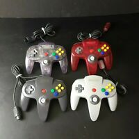 OEM Nintendo N64 Controllers | Many Colors | NUS-005 | Used, Tested & Working