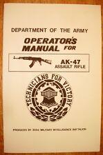 A*K Operator's Manual