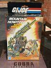 GI JOE ~ 1984 MOUNTAIN HOWITZER ~ CANNON ~ SEALED BAGS ~ MIB MISB GREAT BOX !!
