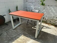 Brand New Home Office PC Desk Writing Table Workstation Wooden & Metal