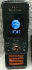 Sony Ericsson Slider Cell Phone (Walkman) W580i - Black AT&T Straight Talk