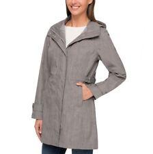 NEW  Kirkland Signature Ladies Trench Coat waterproof wind resistant hooded
