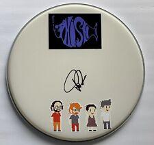 Phish Trey Anastasio signed remo drumhead autographed