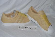 Adidas Superstar 80's Nigo Size 11 - NEW DEADSTOCK - M21508 White Tan Consortium