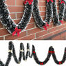 2M Chunky Xmas Garland Home Party Wall Door Decor Christmas Tree Ornaments Grand