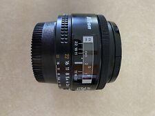 Superb Nikon 28mm F2.8 Ai-s AF lens