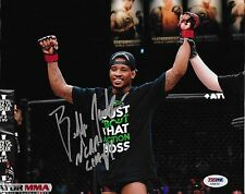Bubba Jenkins Signed Bellator MMA 8x10 Photo PSA/DNA COA Picture Autograph UFC 6