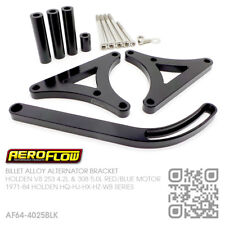 AEROFLOW ALTERNATOR BRACKET BILLET LHS [HOLDEN V8 253-308 HQ-HJ-HX-HZ-WB MONARO]