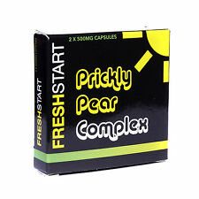 Fresh Start Pricky Pear Complex 2 x 500mg Capsules  Buy 1 pack get 1 pack FREE
