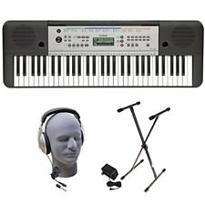 Yamaha YPT255 61-Key Keyboard Pack with Headphones Power Supply and Stand