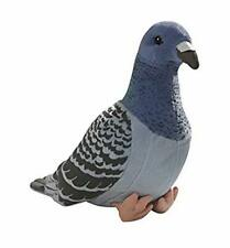 TAMMYFLYFLY Lifelike Pigeon Blue Plush Toy, Soft Toy, Stuffed Animal Doll