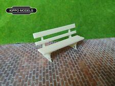 g scale garden railway station bench