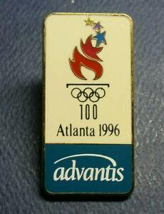 Olympic Pin: Advantis Olympic Pin 1996 Atlanta Olympic Sponsor Pin Advantis Pin