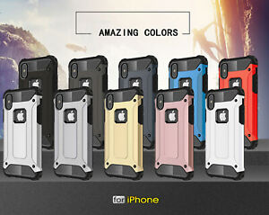 For Apple iPhone 11 Pro Max XR Xs X 8 7 Plus 6 5 Se Case Cover Hard Phone Armour