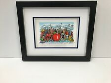 """Charles Fazzino 3D Artwork """"Blue Skies Over New York"""" Signed & Numbered Blue"""