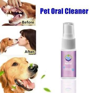 Dental Pet Spray Dog Breath Freshener Teeth Cleaner For Cat And Dog C8D5