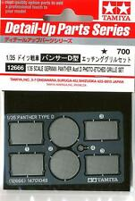 TAMIYA ACCESSORI 1:35 FOTOINCISIONI PANTER TEDESCO PHOTO ETCHED GRILLE SET 12666