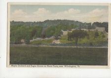 Magpie Orchard & Sugar House Mann Farm Wilmington Vermont USA Postcard US023