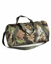 CAMOUFLAGE CAMO ROLL DUFFLE BAG - ADJUSTABLE REMOVABLE STRAP, BY SHERWOOD
