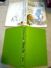 Hc/Dj 1972 Stated 1st Printing Enormouse Leap Of Alphonse Frog Hallward Pederson
