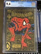 SPIDER-MAN #1, CGC 9.4 White pages GOLD EDITION SECOND PRINTING 1990