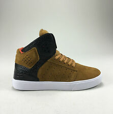 Supra Atom Skate Shoes Trainers new in box Brown/Black/White in UK size 7,8,9