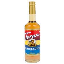 Torani butterscotch syrup 750 mL