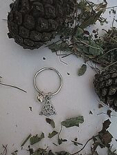 CAT COLLAR CHARM TRIQUETRA AND BELL PAGAN WICCA FAMILIAR KITTIE CAT JEWELLERY