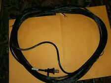 Black 30' Fitall  Two-Wire Vacuum Power Cord 17 Gauge Brand New.