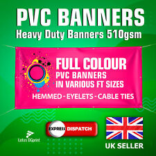 More details for pvc banner - pvc banner printing - personalised business banner 510g