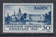 Baden 46 I ** postfrisch Marke 3