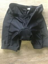 CANARI BICYCLE BIKE CYCLE CYCLING PADDED Shorts Sz Mens L Black