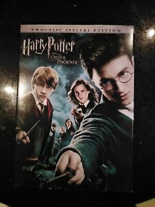 Harry Potter and the order of the phoenix-dvd-region 1