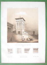 ARCHITECTURE PRINT : Germany Berlin Borsig Werke Machine Factory Tower