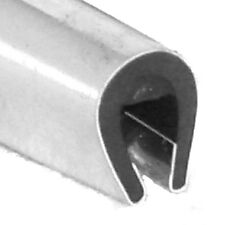 Chrome 'U' Channel Edge Trim 10mm x 8mm