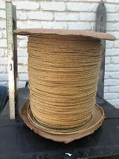 Fiber Rush 3/16'' Kraft Brown Large Spool 1000+ feet measures 14x14x15 spool