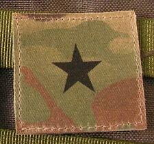 Galons US - GENERAL - grade scratch MULTICAM rank insignia SNAKE PATCH